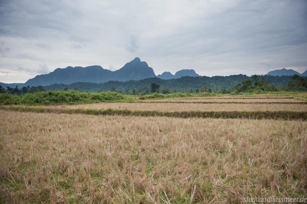 Vang Vieng – die wunderschöne Karstlandschaft